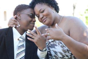 Lesbian wedding in dc