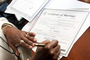 dc marriage license proxy