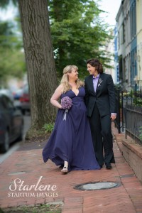 photo of a MD same sex marriage couple taken by Rev. Starlene
